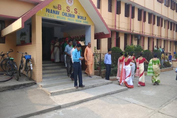B S S Pranav Children World-Entrance View