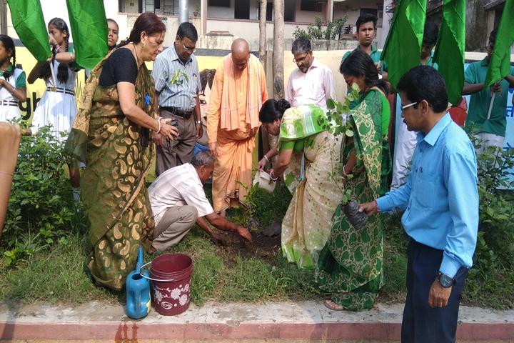 B S S Pranav Children World-Tree Plantation