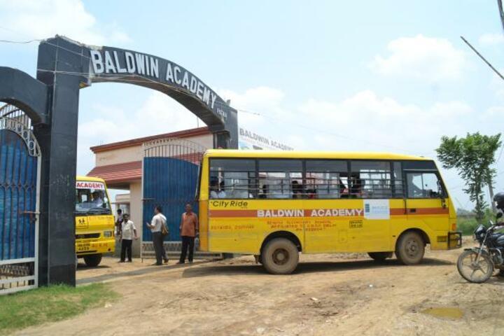 Baldwin Farm Area High School-Entrance View