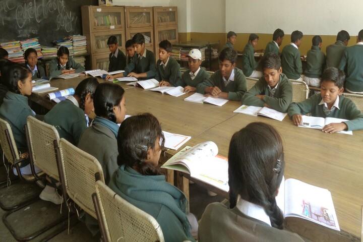 Bharat Singh Public School-Library