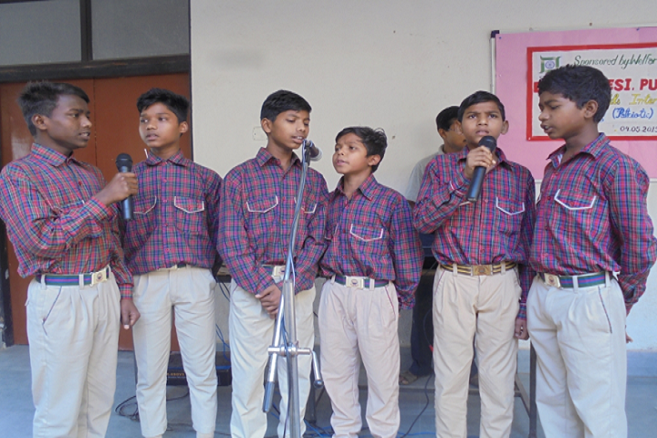Birsa Munda DAV Residential Public School-Singing