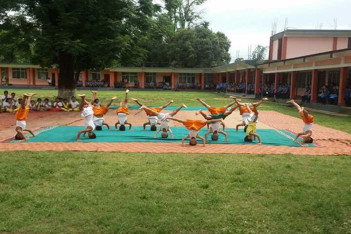 Vivekanand Kendra Vidyalaya-Yoga day
