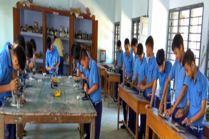 Vivekananda Kendra Vidyalaya-Science Lab