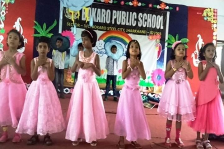 Bokaro Public Vidyalaya-Dance