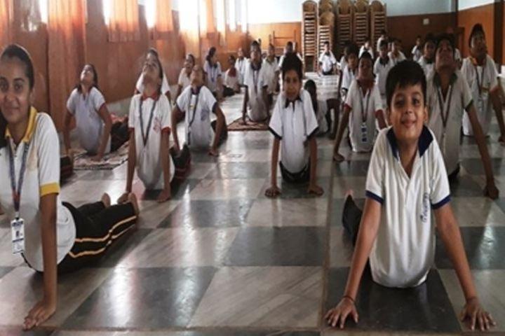 Bokaro Public Vidyalaya-Yoga