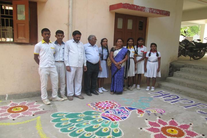 Campion Basic Academy-Rangoli