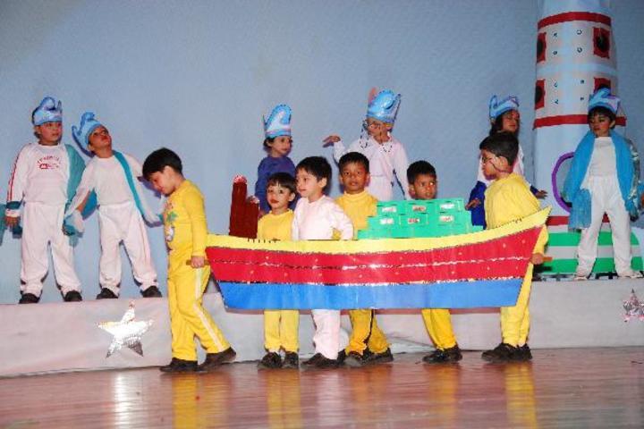 Central Academy-Nursery Activity