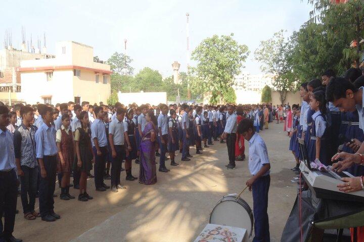 Central Public School-Morning Assembly