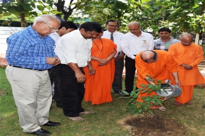 Chinmaya Vidyalaya-Tree-Plantation