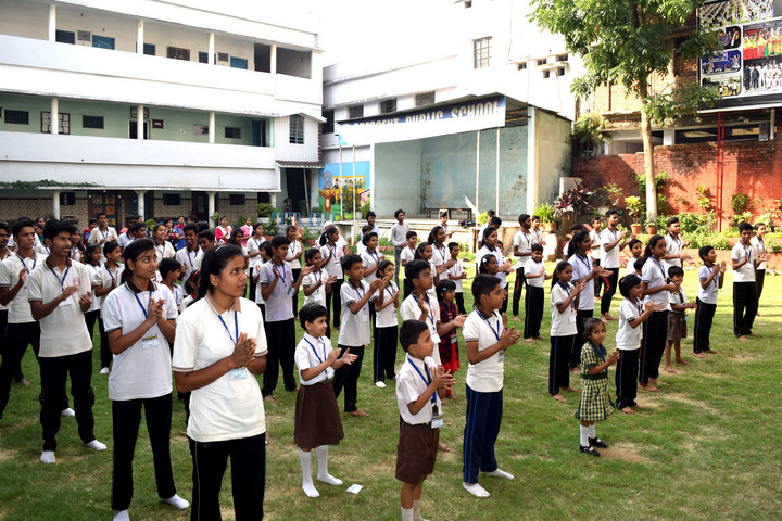 Crescent Public School-Morning Assembly