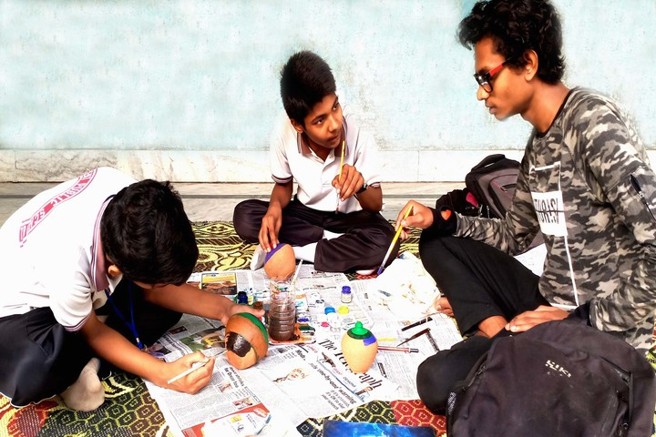 Crescent Public School- Art & Craft Activity