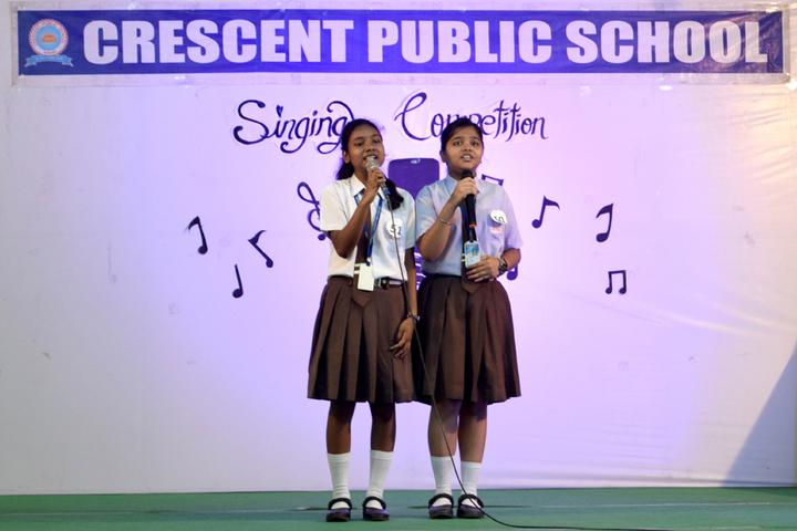 Crescent Public School-Singing Activity