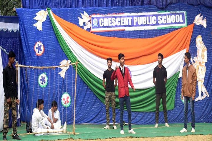 Crescent Public School-SKIT Activity