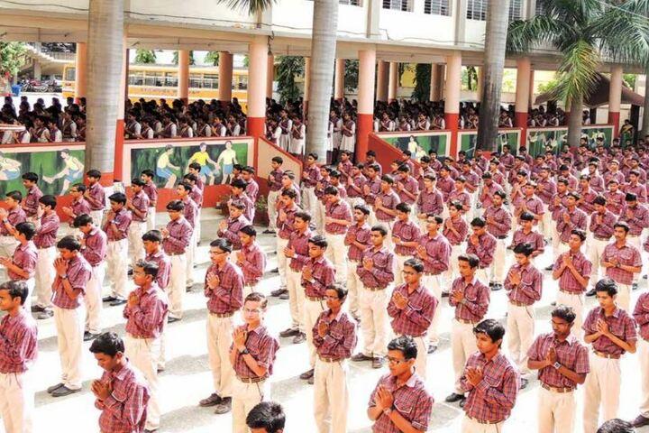 D A V Kapil Dev Public School-Morning-Assembly