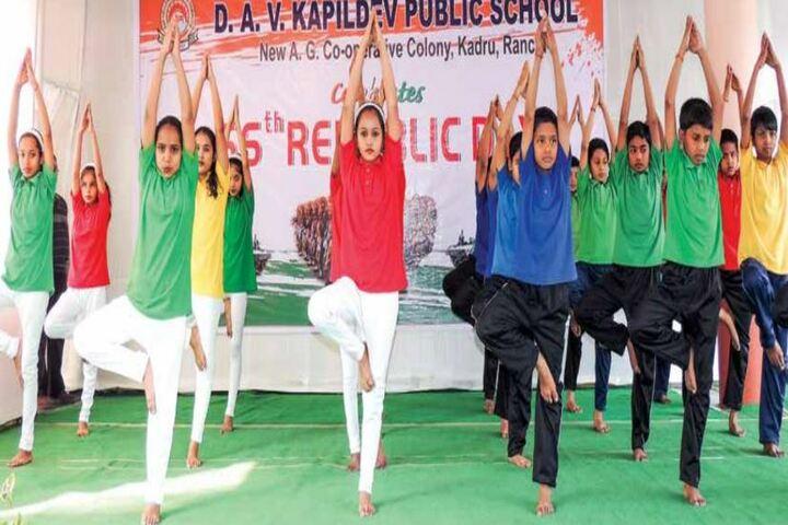 D A V Kapil Dev Public School-Yoga