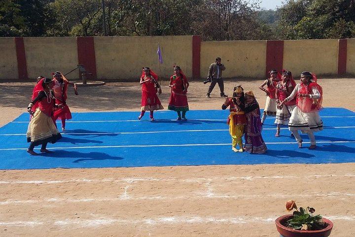 D A V Public School-traditional Dance