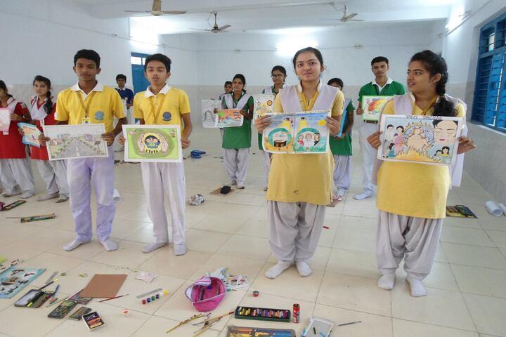 DAV Public School-Drawing Activity