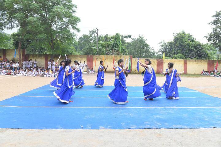 DAV Public School-Students Dance Performance