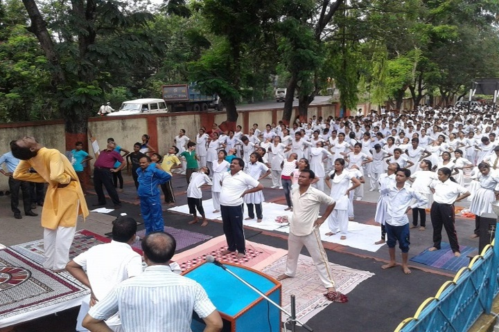 DAV Public School-Yoga Activity