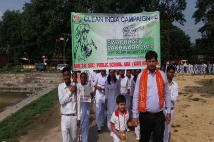 D A V Public School-Swatch Bharat