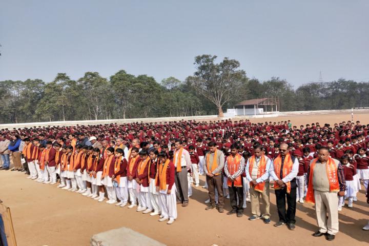 D A V Public School-Assembly
