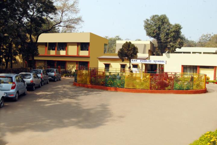 D A V Public School-Building
