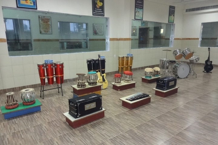 D A V Public School-Music-Room
