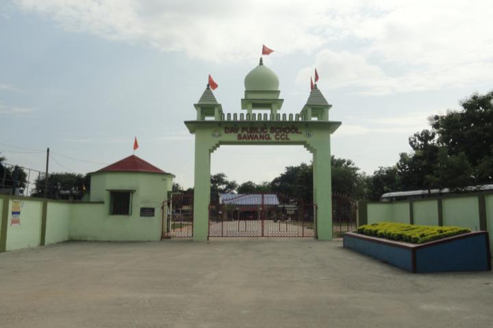 D A V Public School-Gate-View