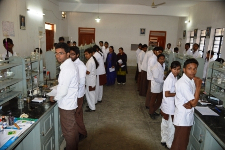 D A V Public School-Chemistry Lab