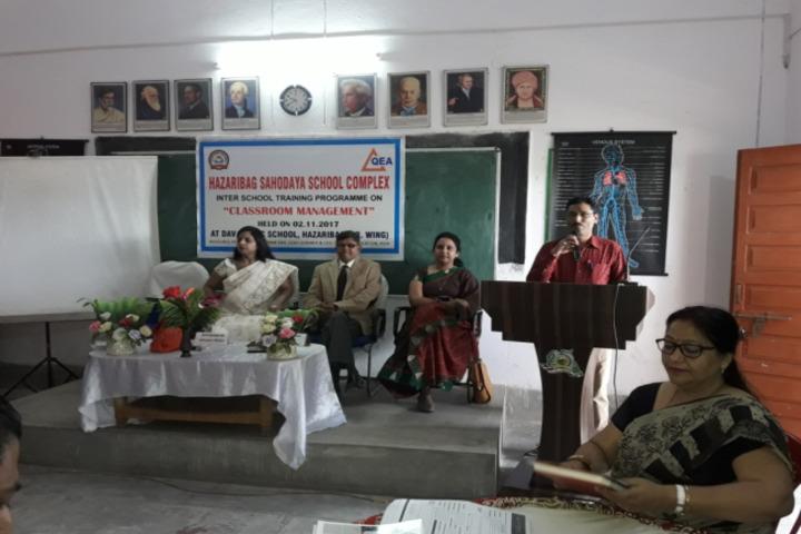 D A V Public School-Workshops