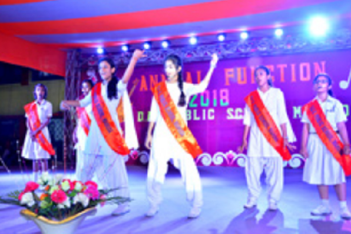 D A V Public School-Annual Day Celebration