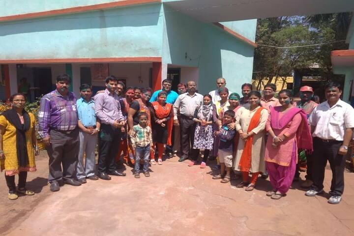 DAV Public School - Holi celebrations