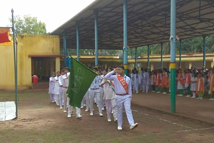 DAV Public School - March past in Independence Day