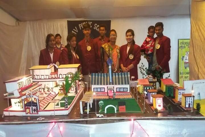 DAV Public School - School Exhibition