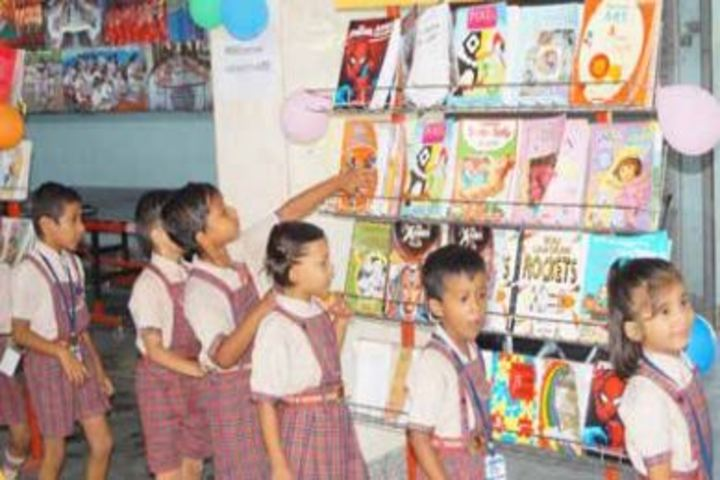 D A V Public School-Book-Fair