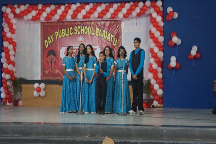 D A V Public School-Music