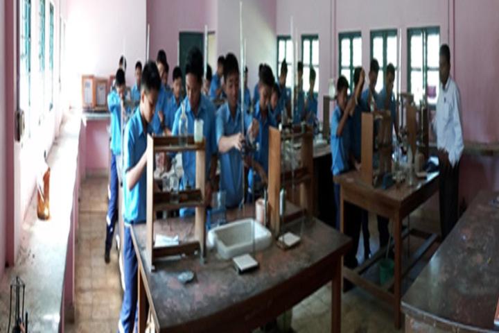 Vivekananda Kendra Vidyalaya-Chemistry Lab