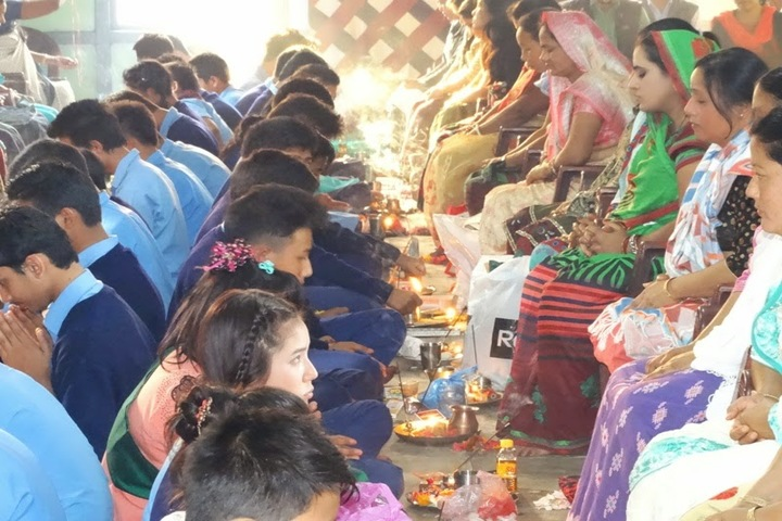 Vivekananda Kendra Vidyalaya-Matri Puja