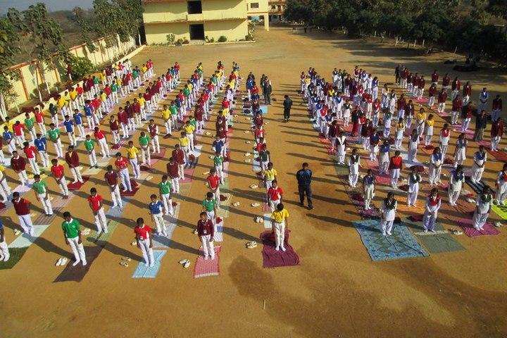 DAV Nageshwar Public School-Yoga-Day