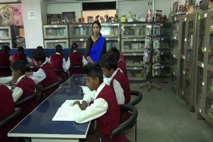 Dav Alok Public School-Library