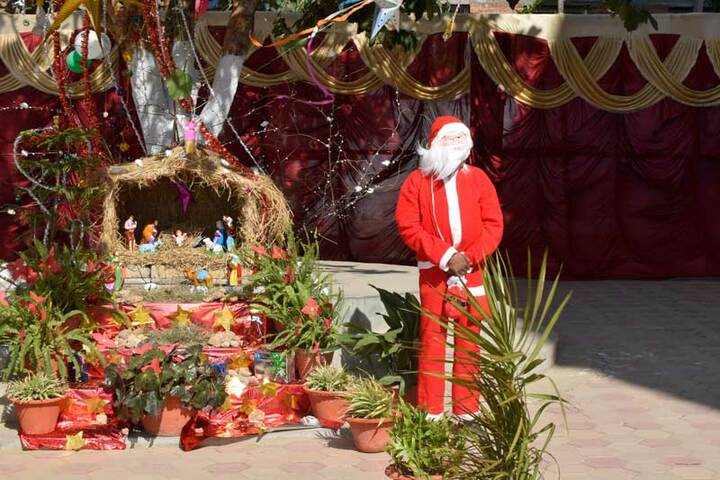 DAV Nandraj Public School - Christmas celebrations