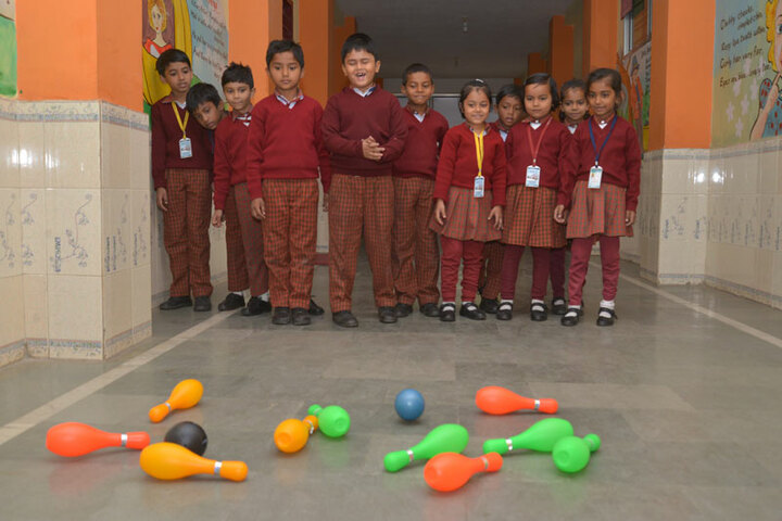 DAV Nandraj Public School - Games