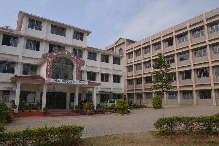 DAV Nandraj Public School - School building