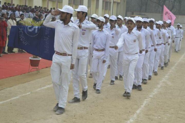 D A V Public School-March Past