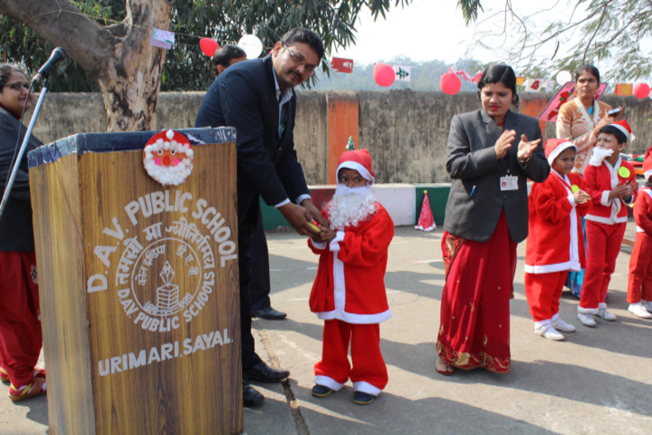 Dav Public School-Christmas Celebration