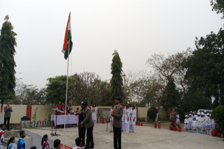 Dav Public School-Flag-Hosting