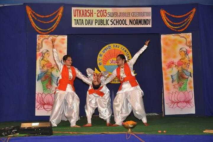 DAV Public School - Traditional dance