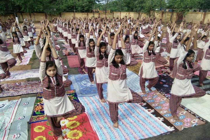 Dav Public School-Yoga