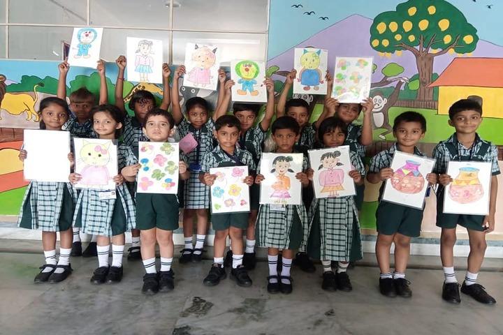 Delhi Public School-Drawing Activity