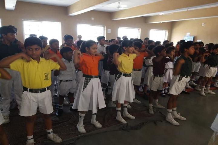 Delhi Public School Greater Ranchi-Activity1